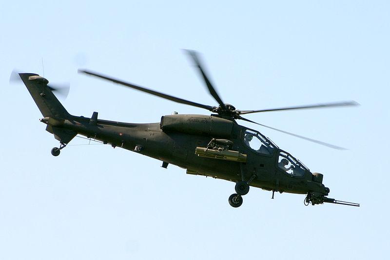Uderzeniowe helikoptery przyniosą technologie