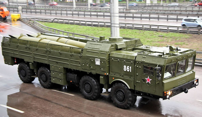 Rosjanie ćwiczą przerzut Iskanderów do Kaliningradu