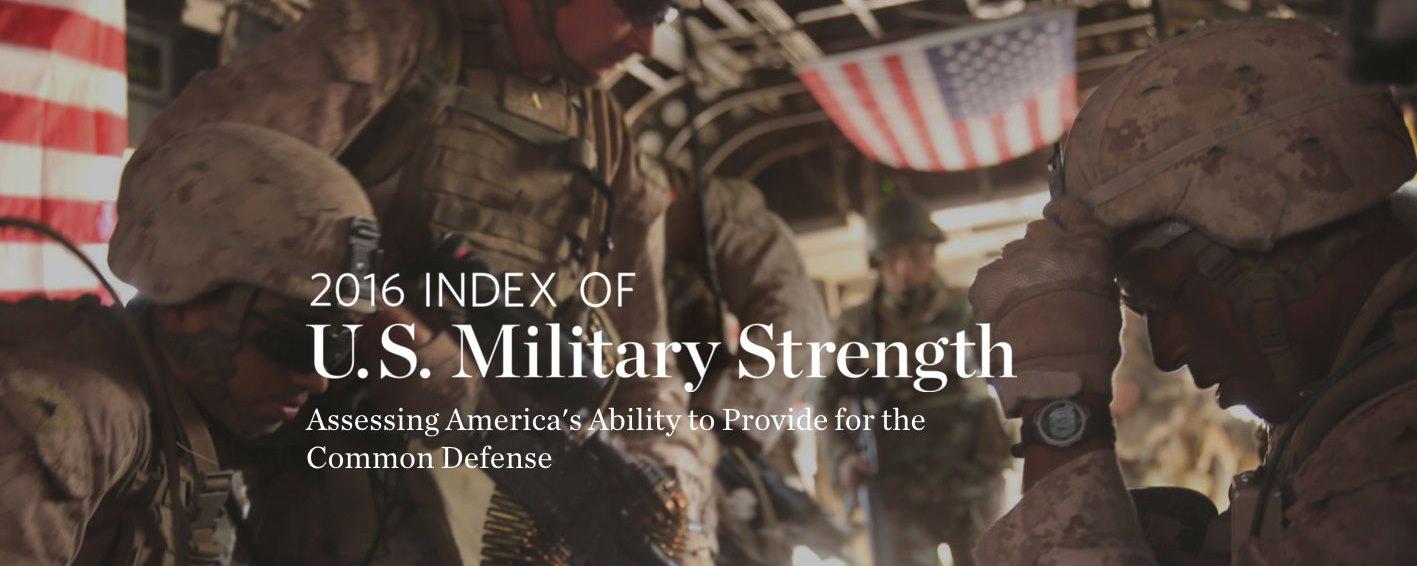 2016 Index of U.S. Military Strength – Europa jednym z największych wyzwań dla interesów USA
