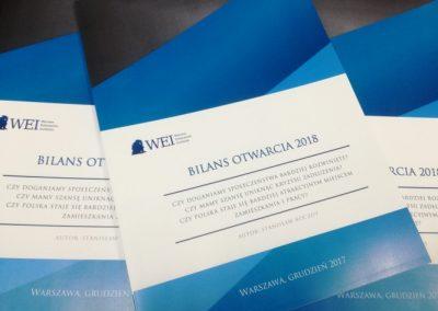 Raport otwarcia – bilans roku według WEI