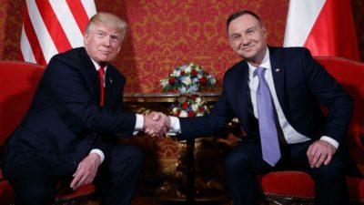 Stosunki polsko-amerykańskie. Wizyta pary prezydenckiej w USA.