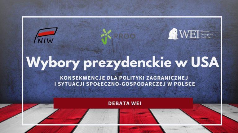 Wybory prezydenckie w USA. Konsekwencje dla Polski | Debata WEI
