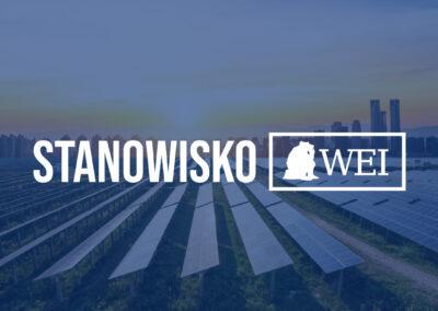Stanowisko WEI: Krajowy Plan Odbudowy i Polityka Energetyczna Polski do 2040 roku