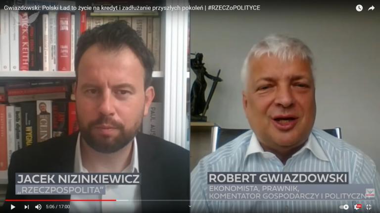 Gwiazdowski: Polski Ład to życie na kredyt i zadłużanie przyszłych pokoleń